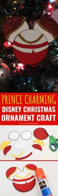 Prince Charming Disney Christmas Ornament Craft