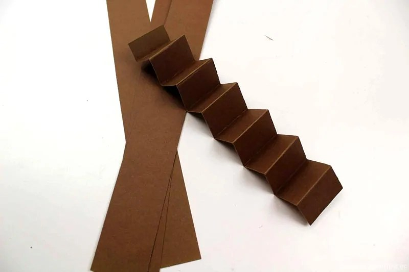 Accordion Folded Strip