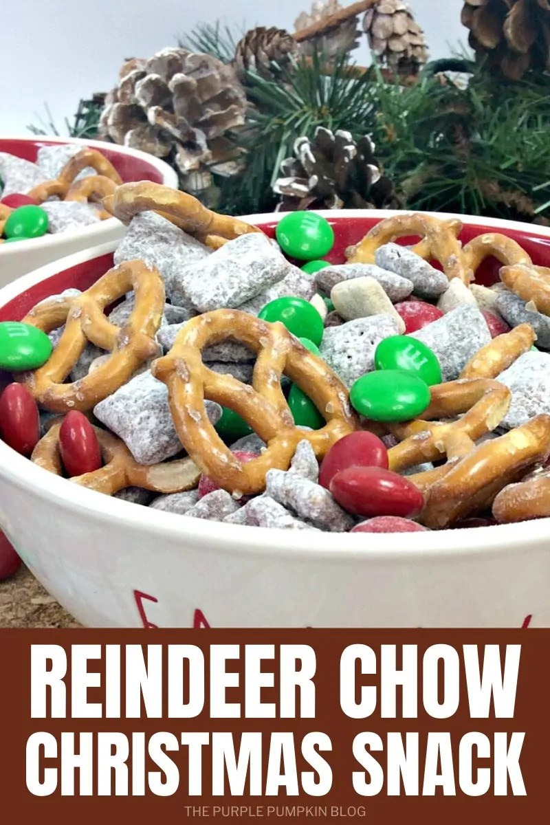 Reindeer Chow Christmas Snack