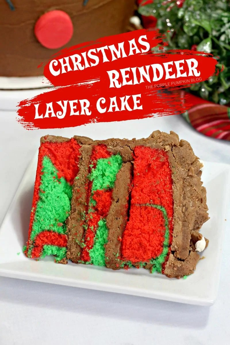 Christmas Reindeer Layer Cake
