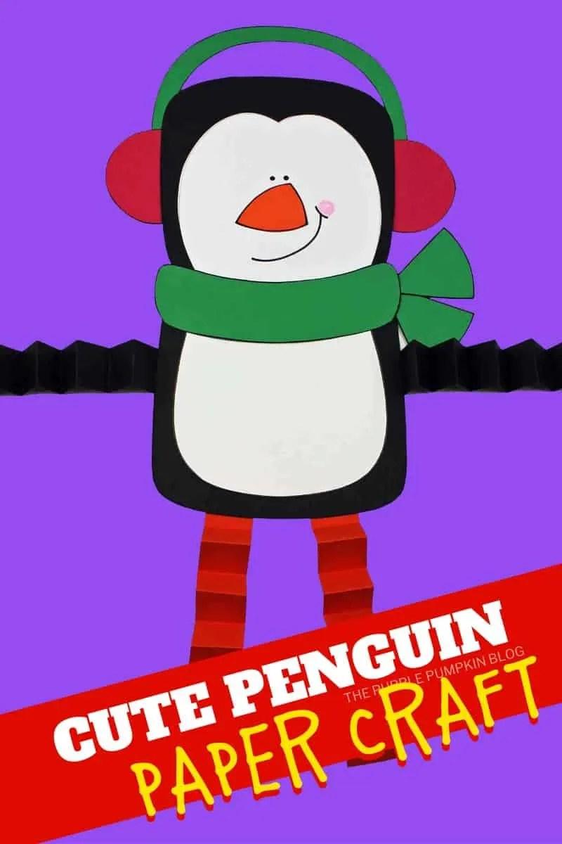 Super-Cute-Penguin-Paper-Craft