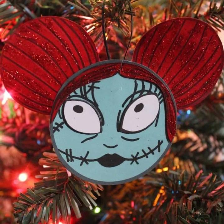 Sally Christmas Ornament Craft