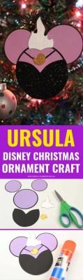 Ursula Disney Christmas Ornaments Craft