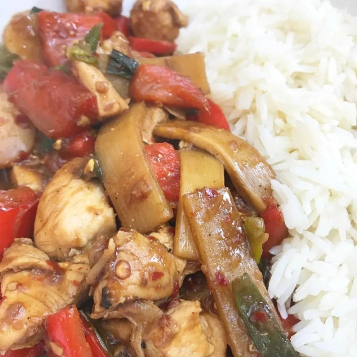 Kung Pao Chicken (Slimming World Friendly)