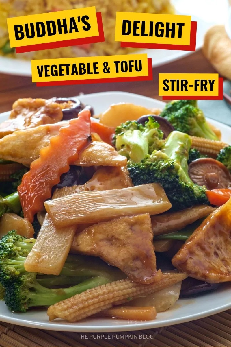 Buddha's Delight Vegetable & Tofu Stir-Fry