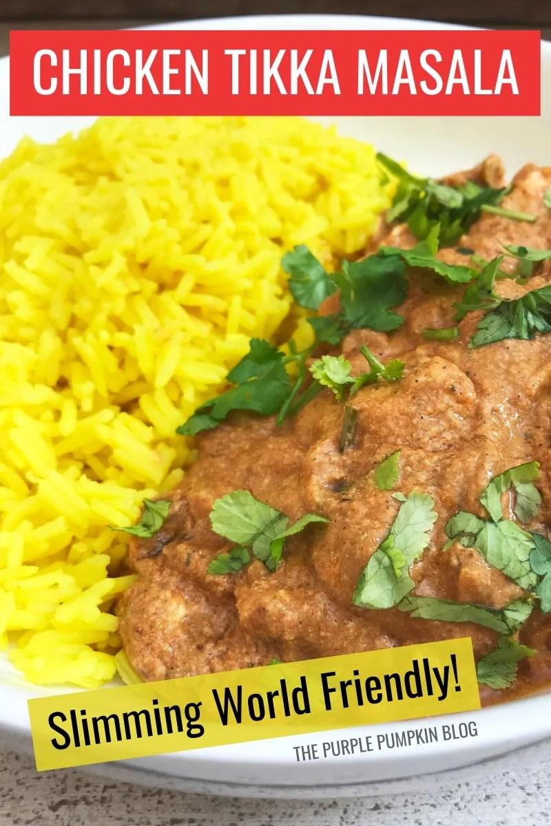 Chicken Tikka Masala - Slimming World Friendly