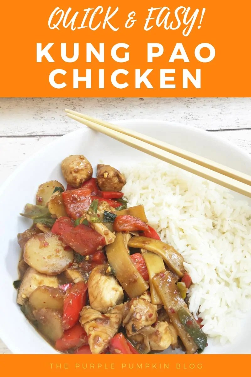 Quick & Easy Kung Pao Chicken