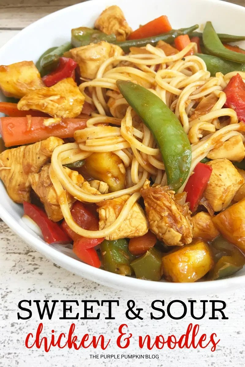 Sweet-Sour-Chicken-Noodles