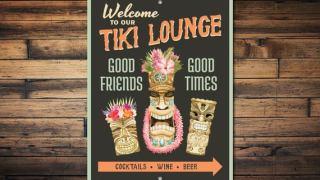 Tiki Lounge Sign