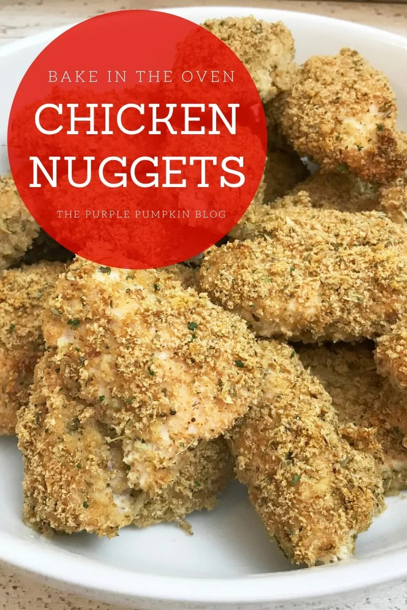 Bake in the Oven Chicken Nuggets