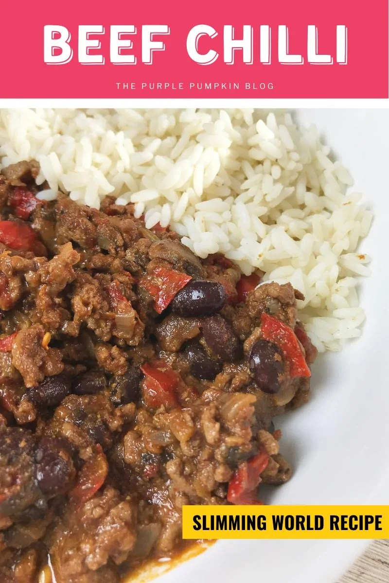Beef Chilli Con Carne - Slimming World Recipe