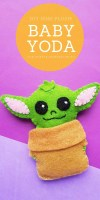 DIY Felt Plush Baby Yoda
