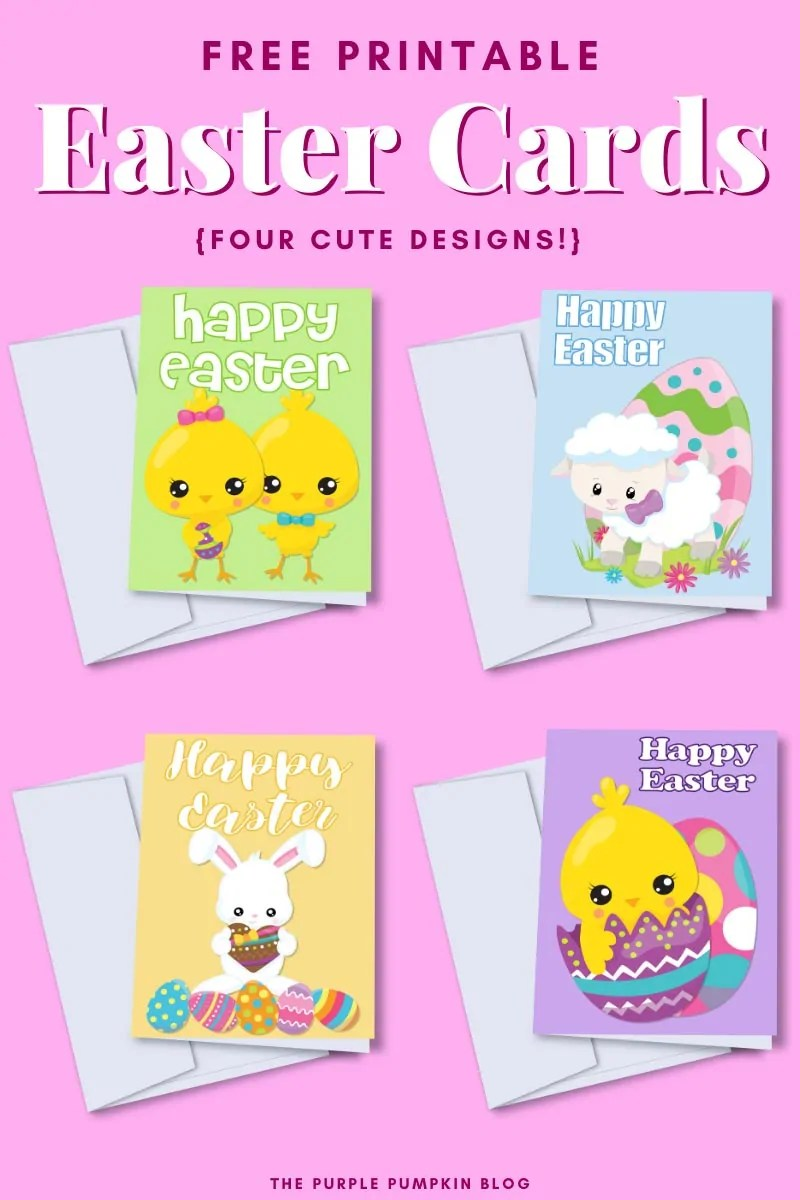 It is a graphic of Free Printable Easter Cards within wife
