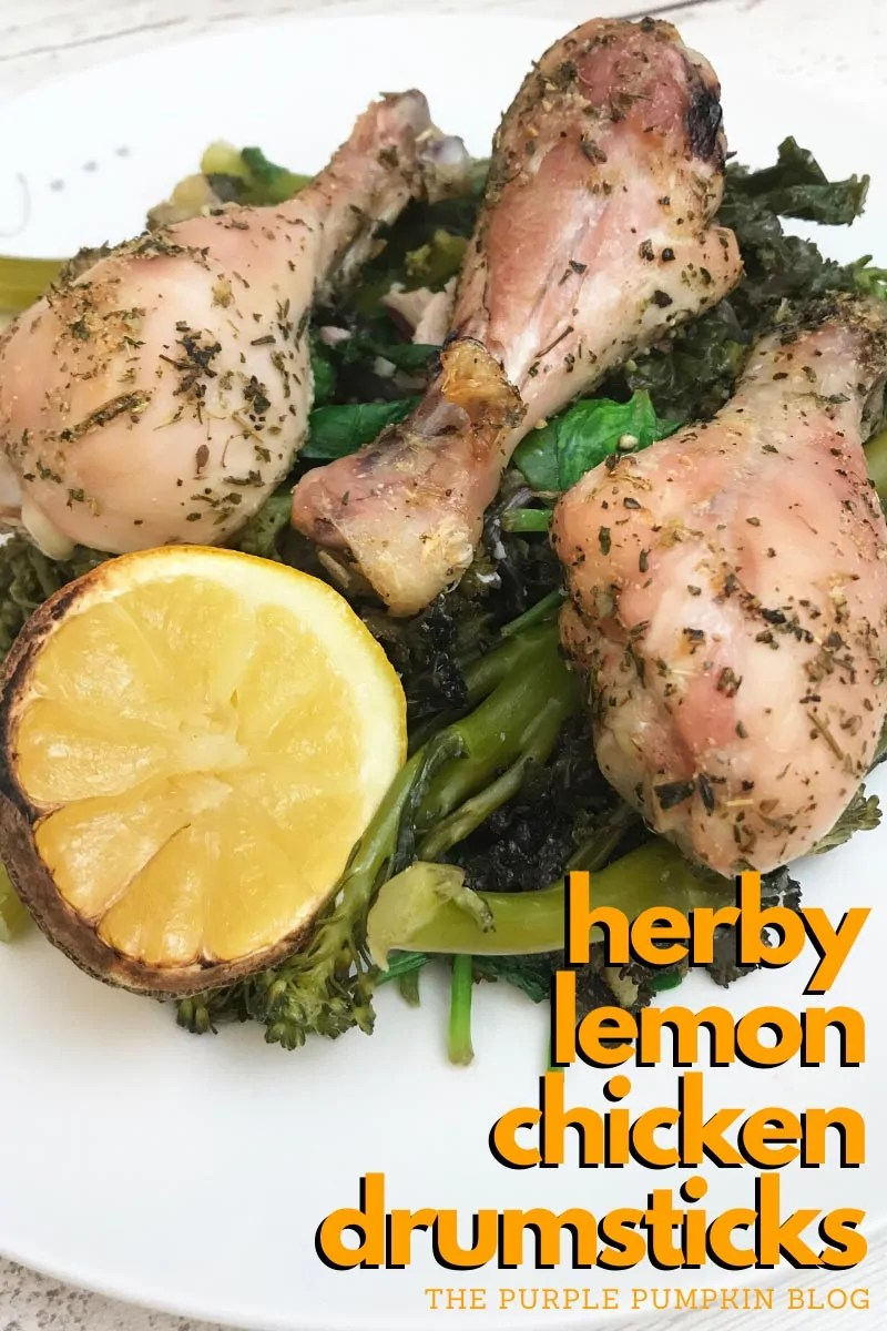 Herby Lemon Chicken Drumsticks