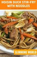 Hoisin Duck Stir-Fry with Noodles - Slimming World
