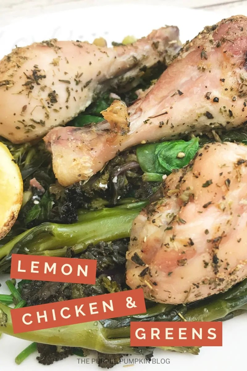 Lemon Chicken & Greens