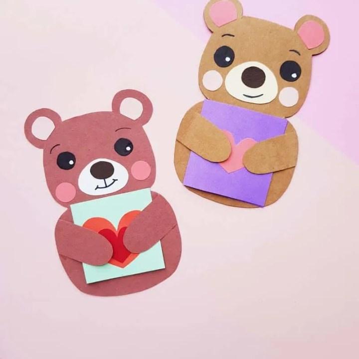 Love Bear Cards Craft