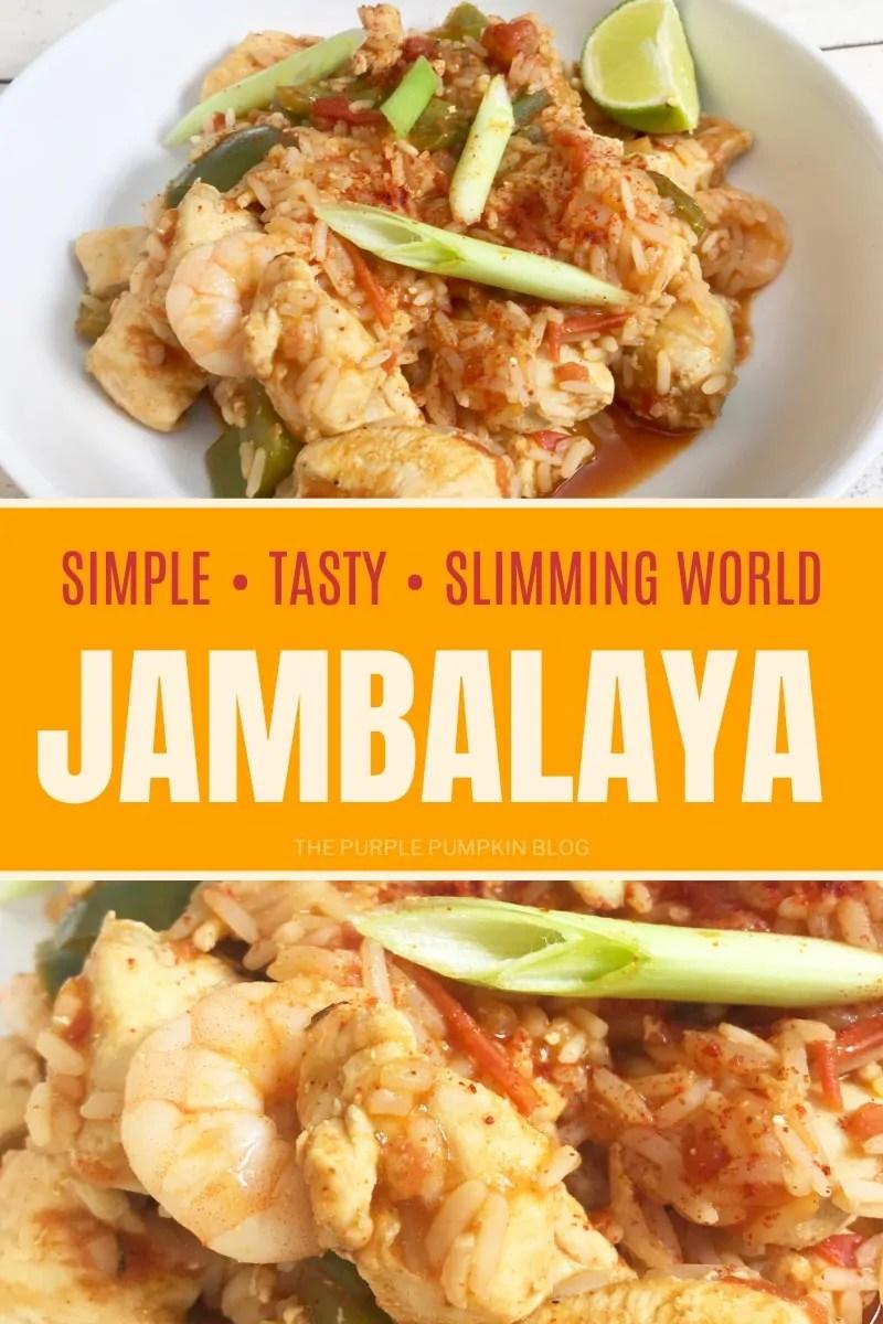 Simple, Tasty, Slimming World Jambalaya