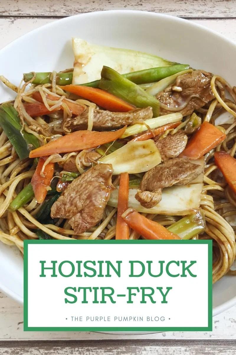 Hoisin Duck Stir-Fry