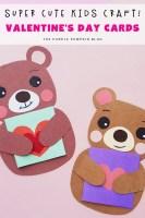 Super Cute Kid's Craft Valentine's Day Cards