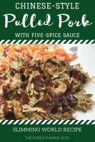 Chinese style Pulled Pork with Five Spice Sauce