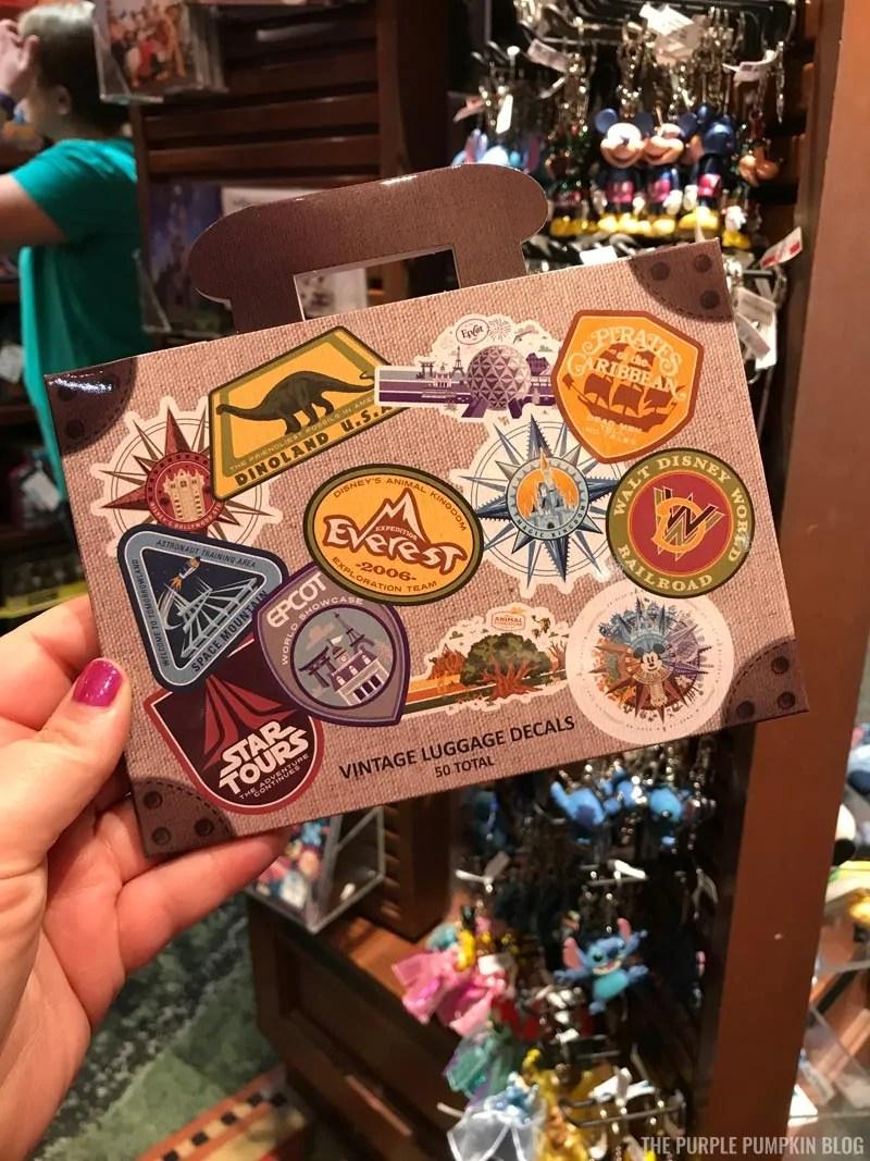 Disney Luggage Decals