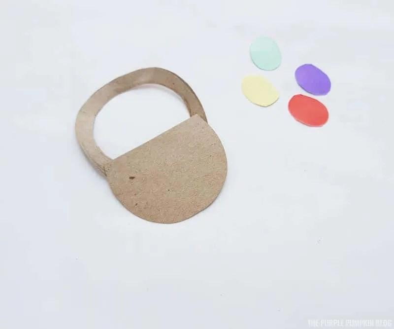Easter Basket Paper Craft Step (2)