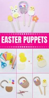 Easy Easter Puppets