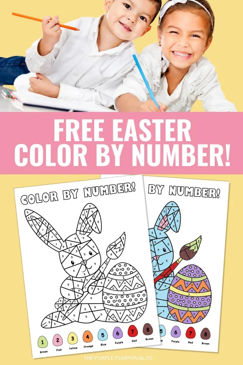 Free-Easter-Color-By-Number