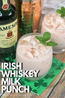 Irish Whiskey Milk Punch