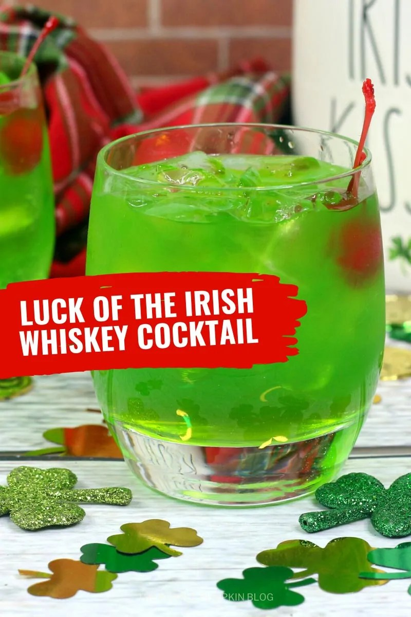 Luck of the Irish Whiskey Cocktail