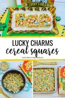 Lucky Charms Cereal Squares
