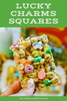 Lucky Charms Squares