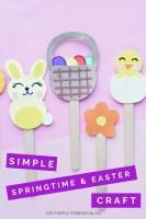 Simple Springtime & Easter Craft