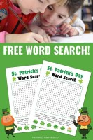 Free Word Search - St. Patrick's Day