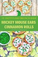 St. Patty's Brunch - Mickey Ears Cinnamon Rolls