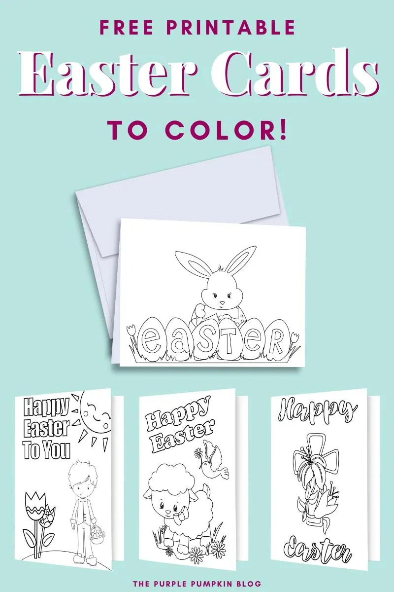4 (of 7) digital Easter Card designs which are described in detail in the blog post. These images are used throughout with different text overlay.
