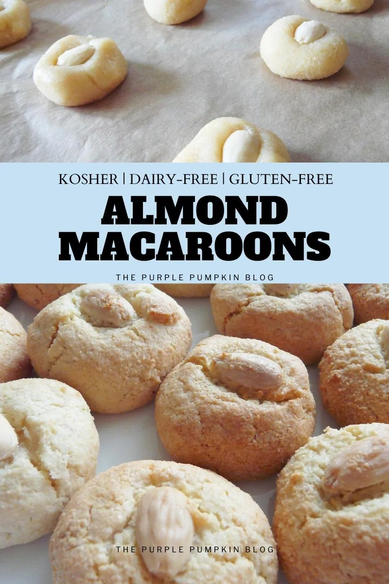 Kosher Almond Macaroons - Dairy-Free & Gluten-Free