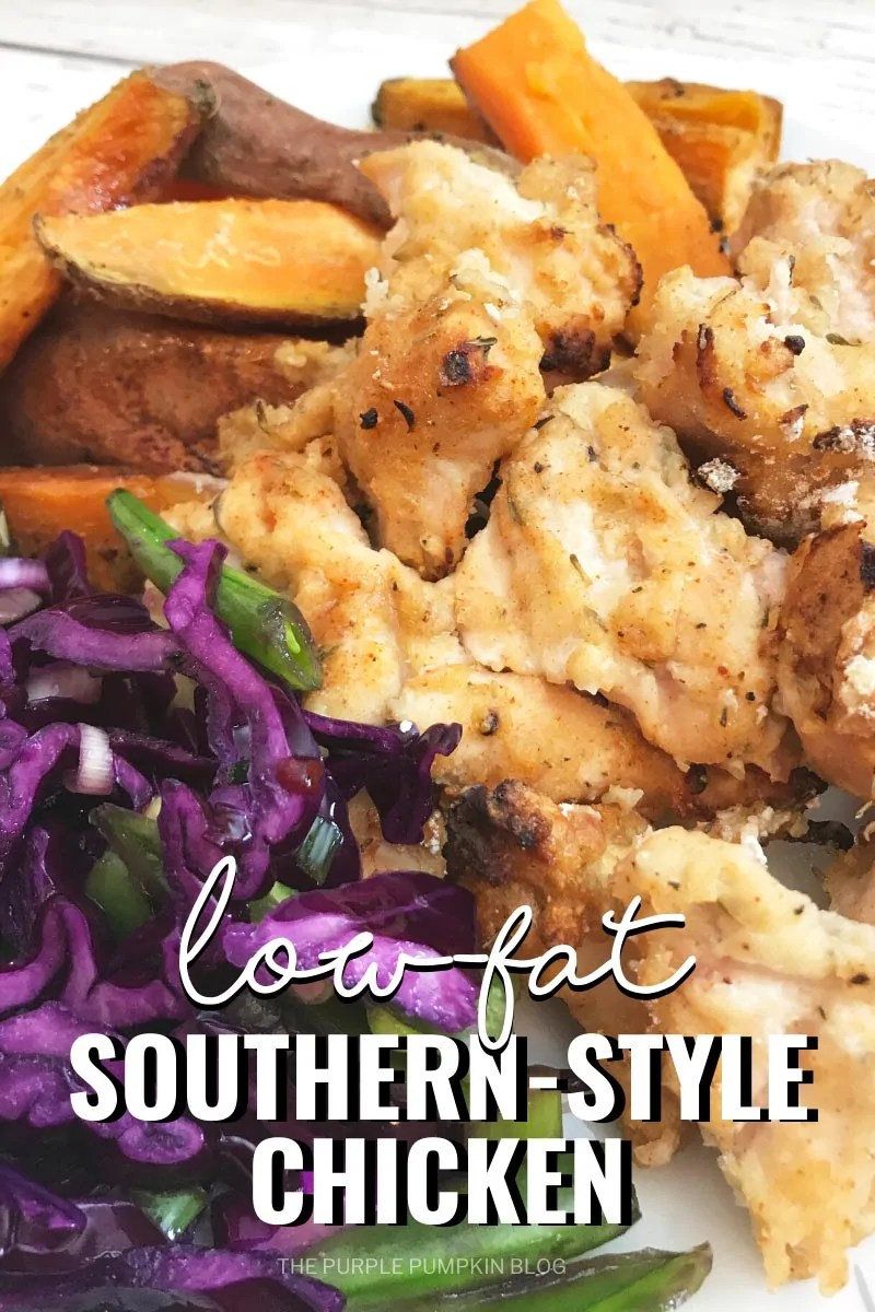 Low-Fat Southern-Style Chicken