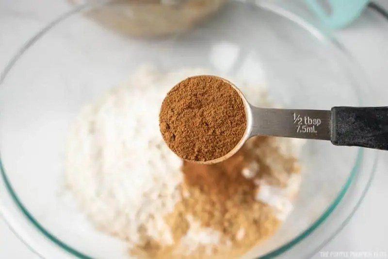 adding cinnamon