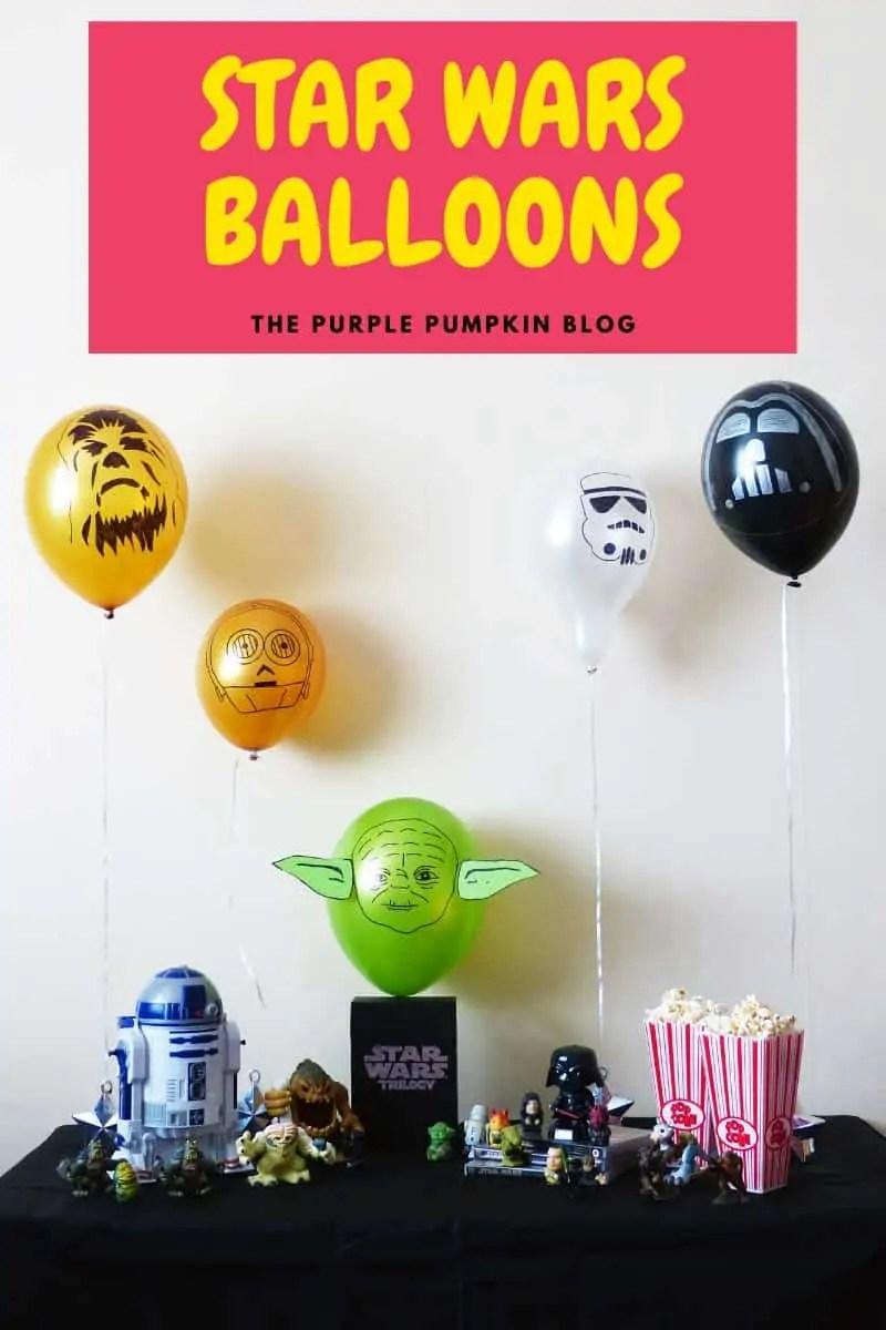 Star Wars Balloons