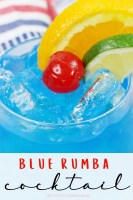 Blue Rumba Cocktail
