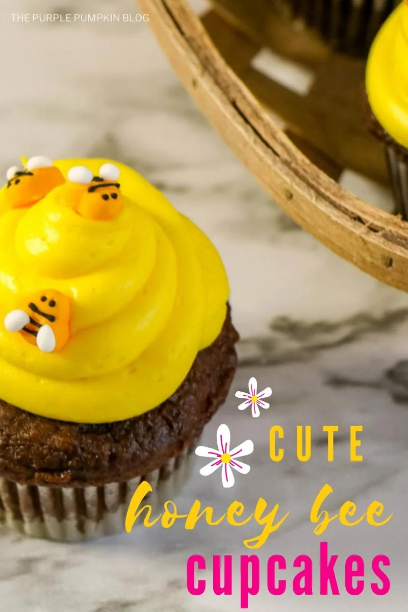 Cute Honey Bee Cupcakes