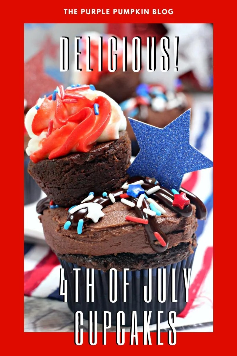 Delicious 4th of July Cupcakes
