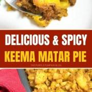 Delicious-Spicy-Keema-Matar-Pie