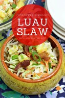 Pineapple & Bacon Luau Slaw