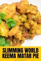Slimming World Keema Matar Pie