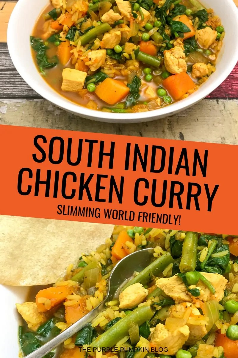South Indian Chicken Curry - Slimming World Friendly!