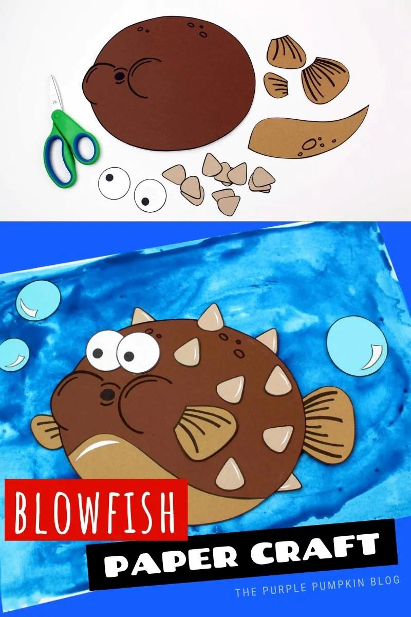 Blowfish Paper Craft