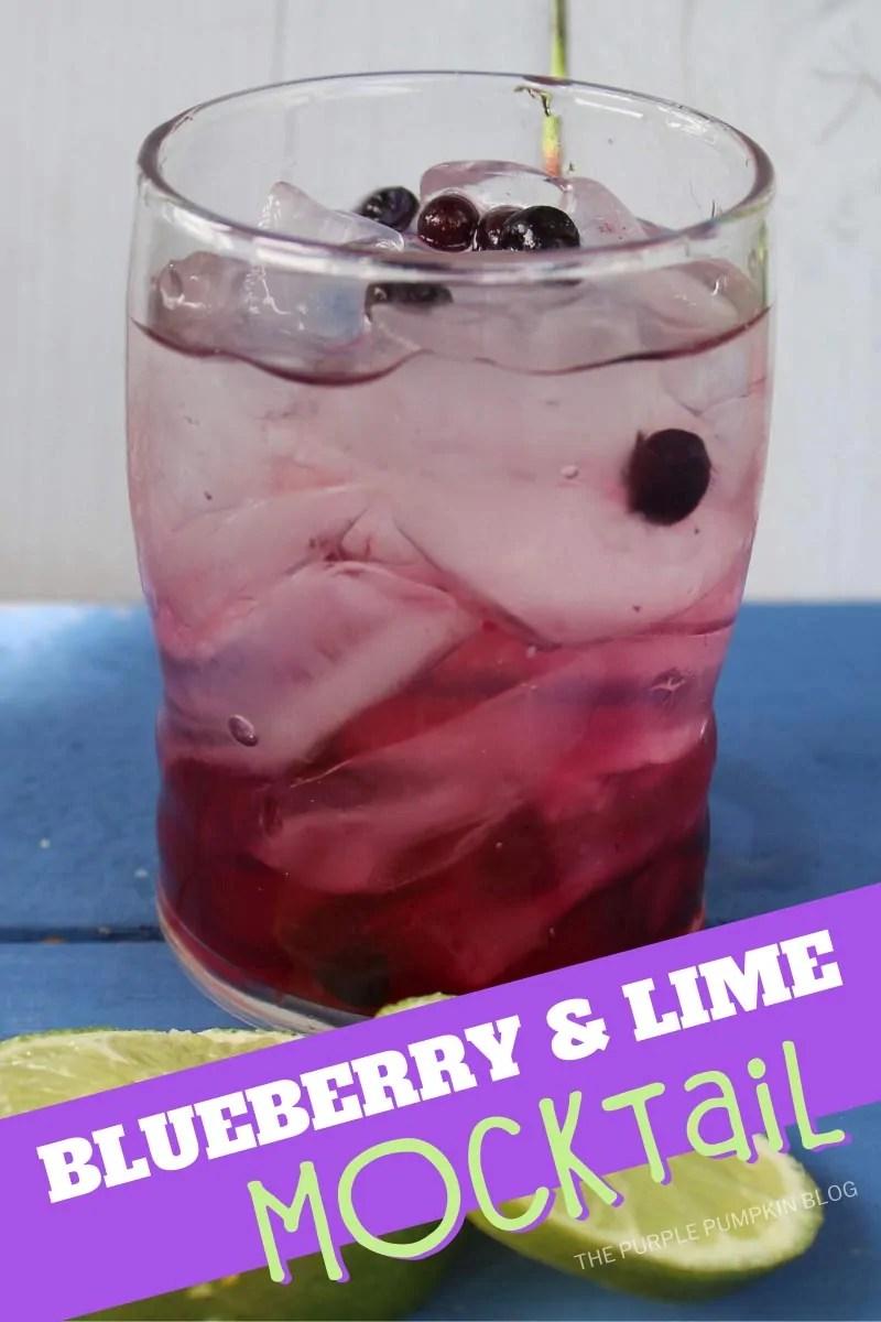 Blueberry & Lime Mocktail